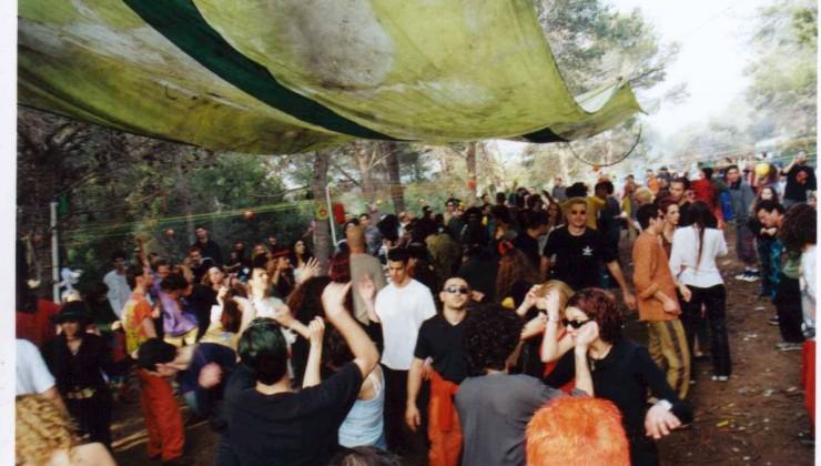 מסיבות טראנס בישראל גני חוגה פסטיבל