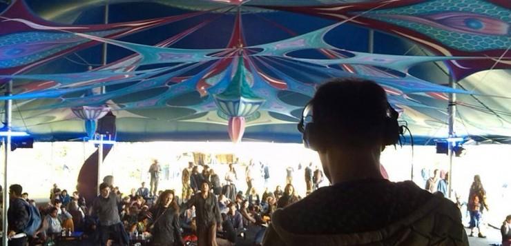 סט צ'יל אווט של Spiky מפסטיבל Antaris 2015