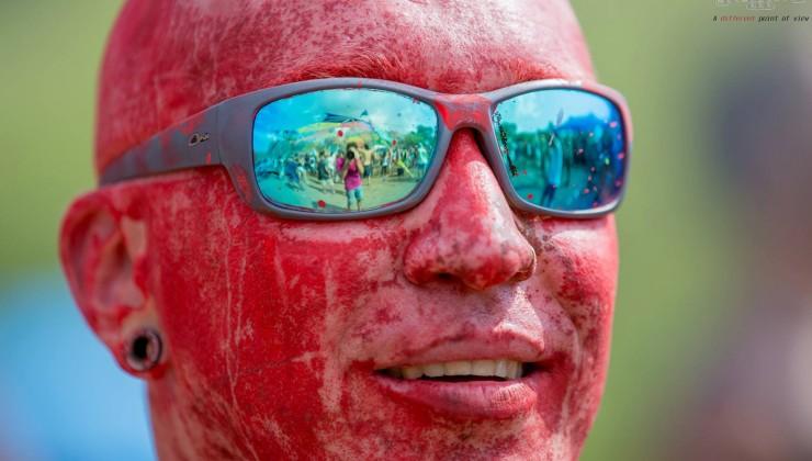 צבעי פנים במסיבת טבע ומסיבת טראנס