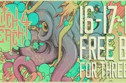 גליצ' ביצ' - 3 ימים של באס חינם - 16-18.05.16