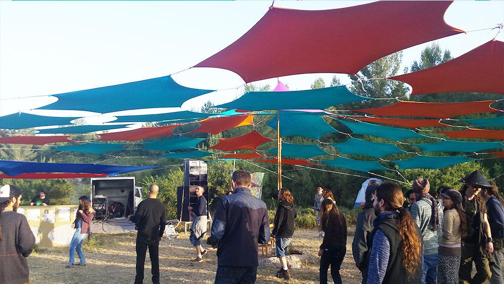 מסיבת טבע צ'ילאווט אמביאנט ישראל