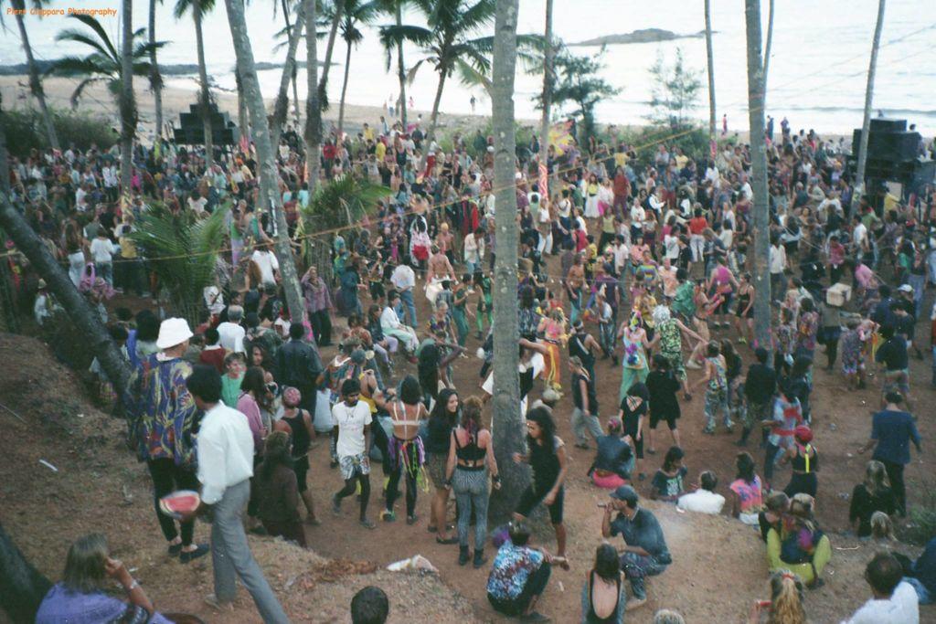 אנג'ונה, גואה, 1991 קרדיט: פיאר סיאפרה