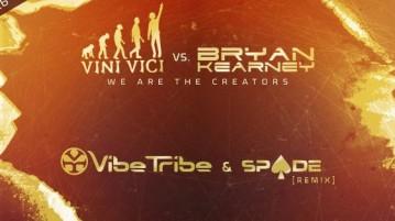 רליס חדש של Vini Vici - Bryan Kearney ברמיקס של Vibe Tribe ו - Spade