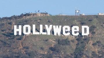 מתיחת השנה - השלט של הוליווד שונה ל HOLLYWEED