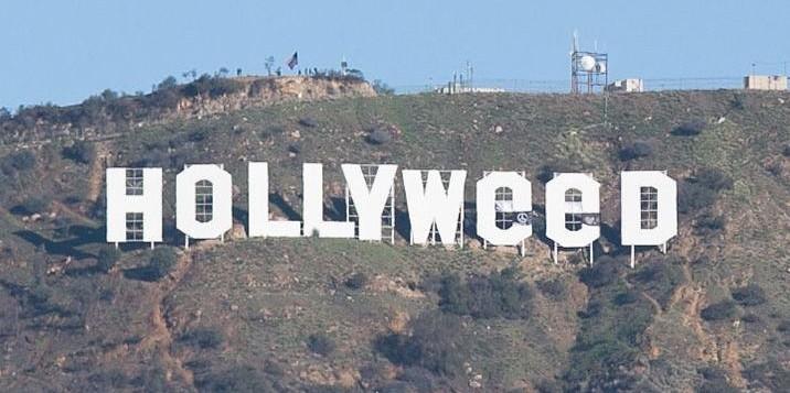 מתיחת השנה – השלט של הוליווד שונה ל HOLLYWEED