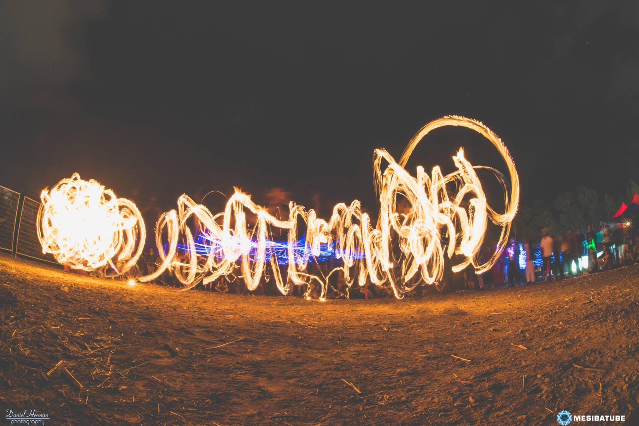 פסטיבל טראנס בכנרת דוף