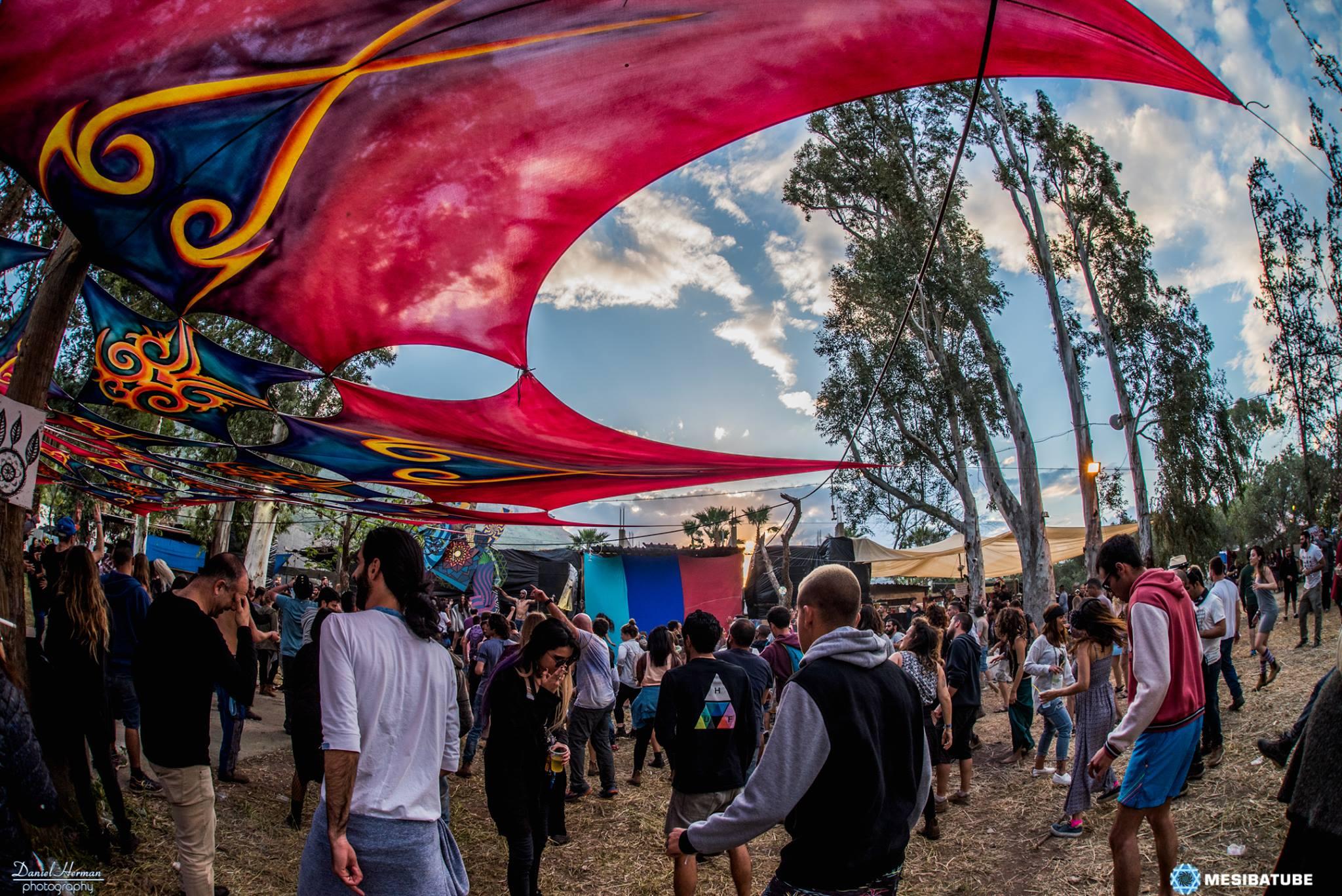 במת פגנקה פסטיבל דוף 2017