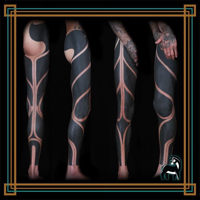 אומנות גוף Ink donky