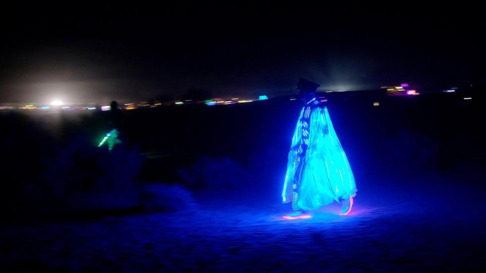 מידברן midburn במדבר