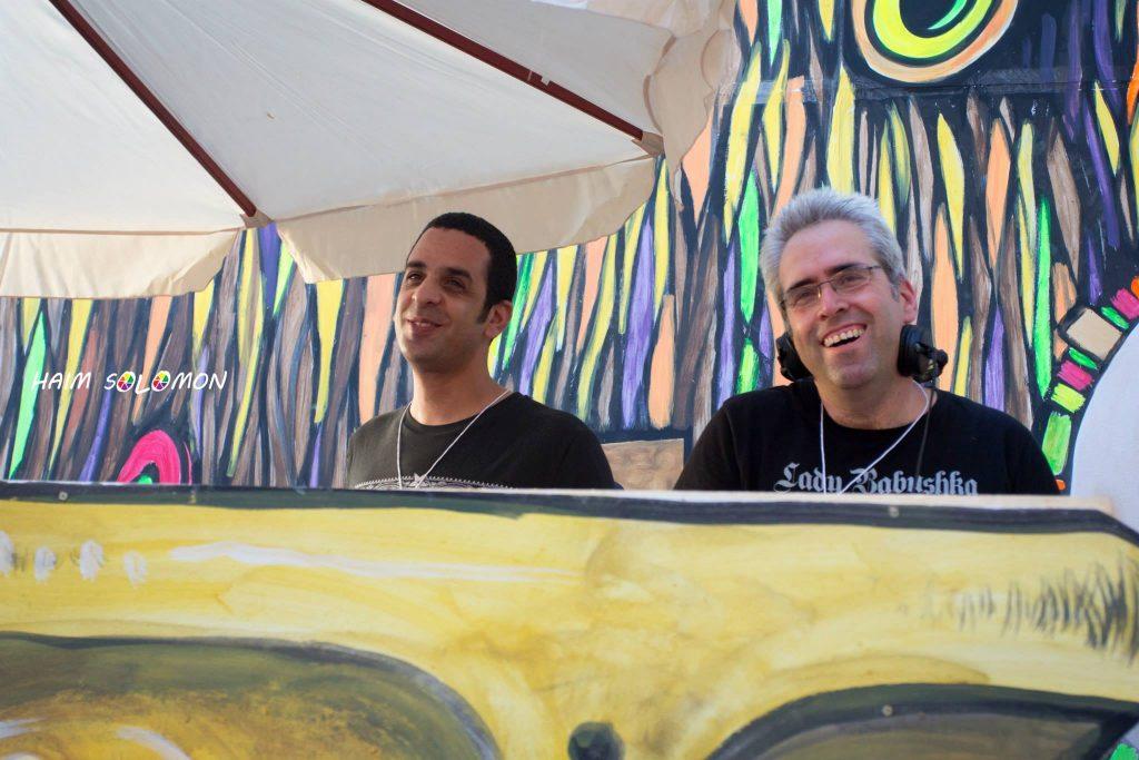 נדי נחימוב ויהודה G בפסטיבל דוף