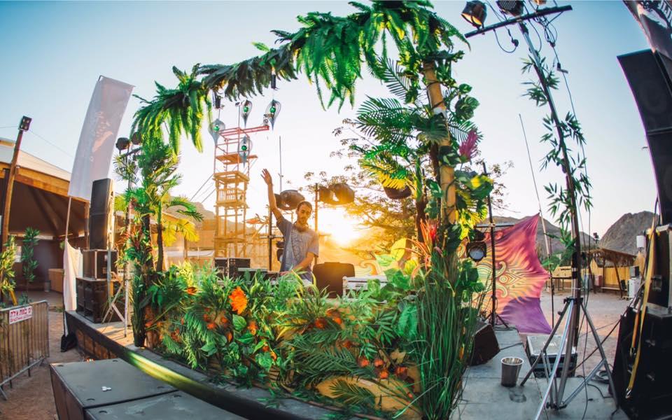 פסטיבל פרדייז אילת מוקסי בר טראנס