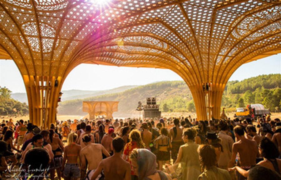 פסטיבל טראנס בחול