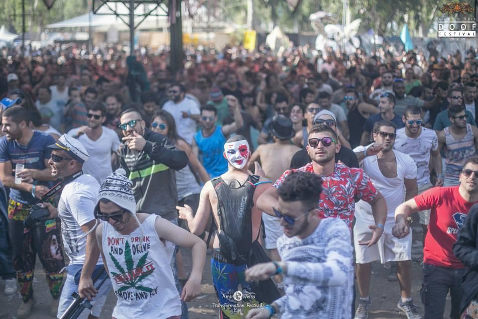 רחבה של פסטיבל טראנס דוף