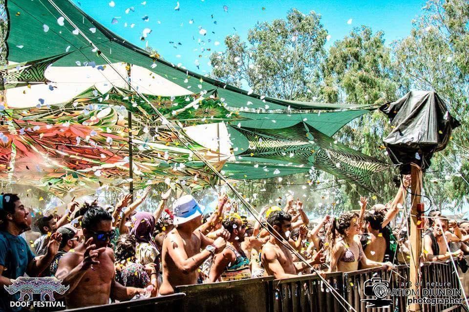 פסטיבל דוף רחבה ראשית