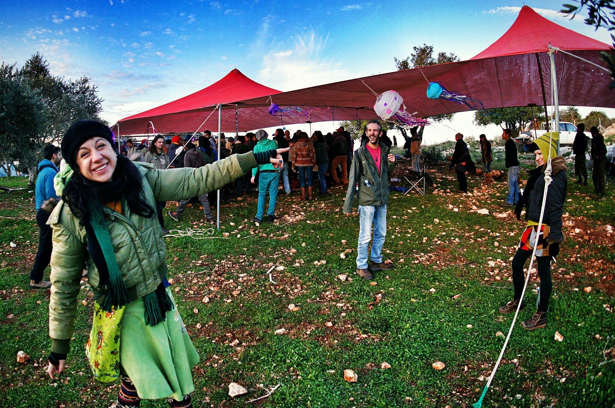 קלידסקופ גאדרינגס מסיבת טבע