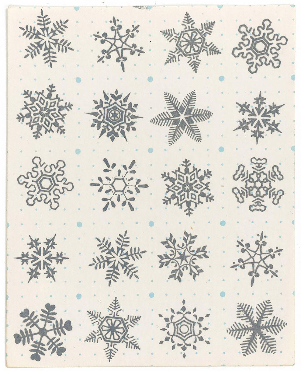גלויות אסיד LSD פתיתי שלג