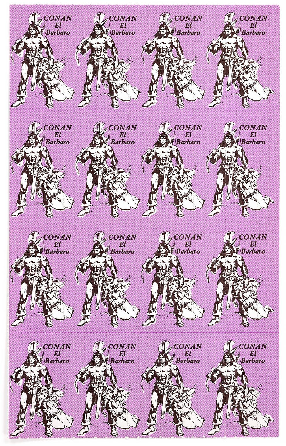 גלויות אסיד LSD קונאן הברברי