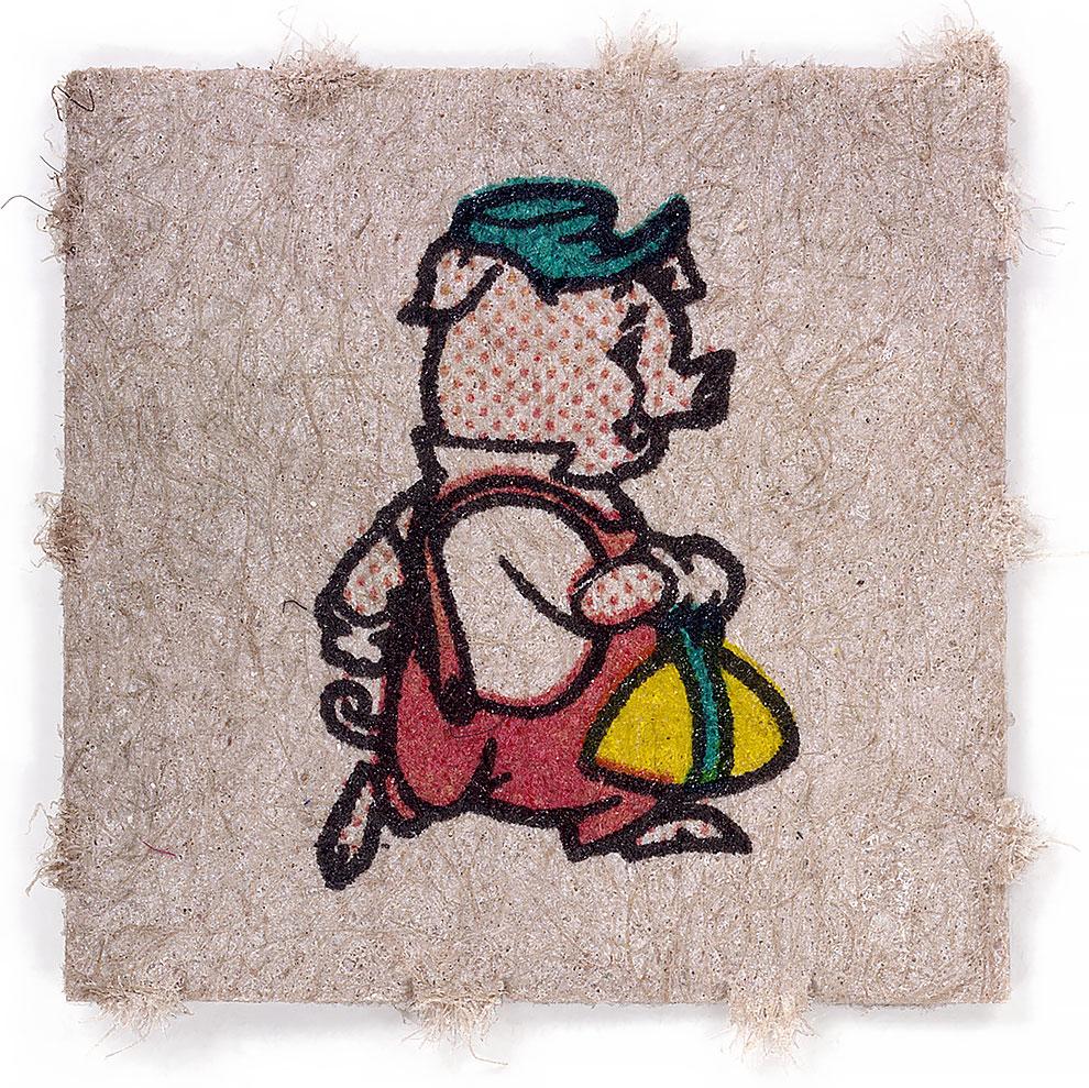 גלויות אסיד LSD החזיר הנודד