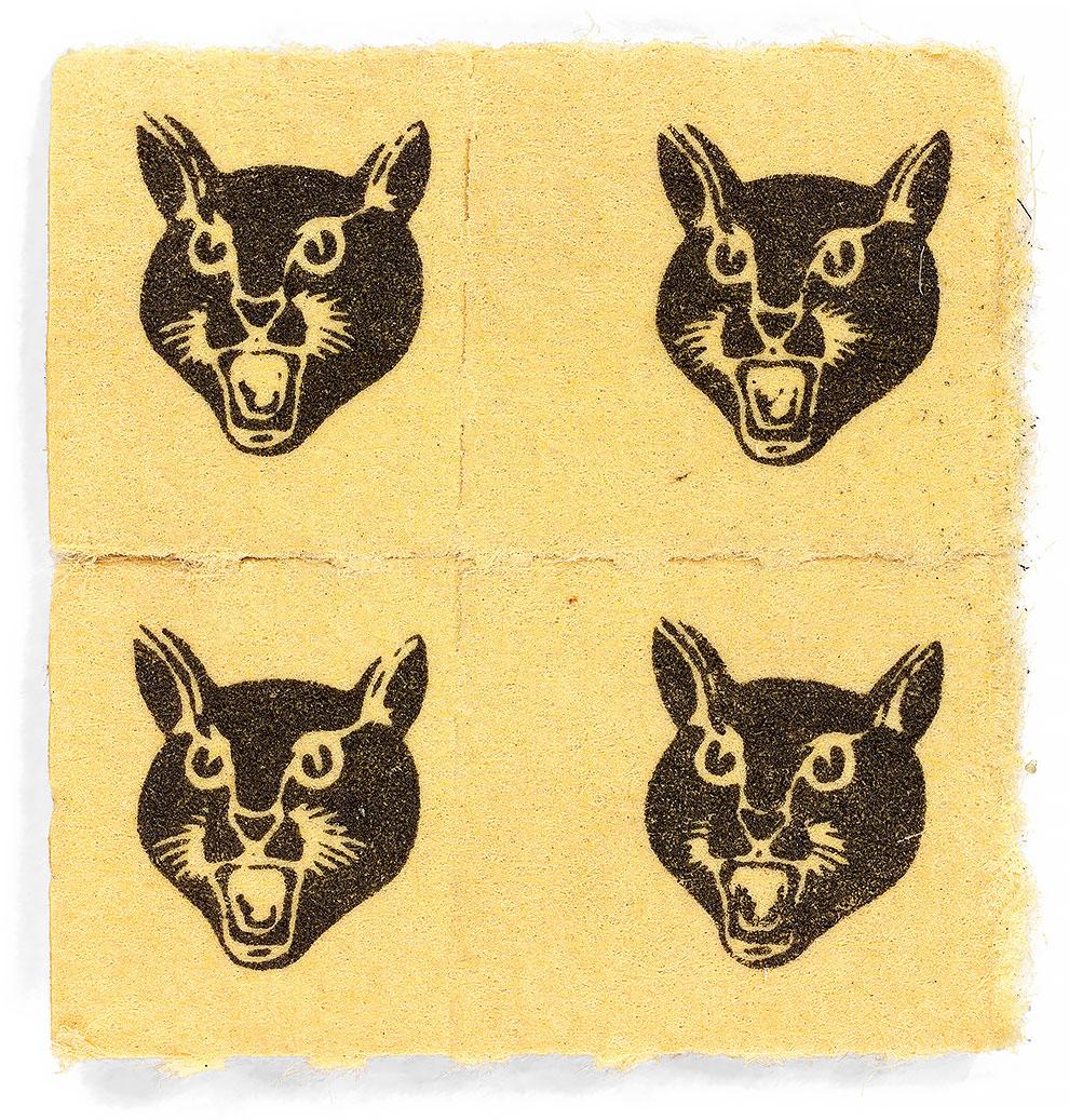 גלויות אסיד LSD רביעייה