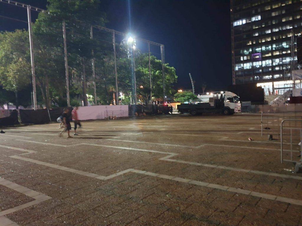 כיכר רבין מחאת הטראנס הגדולה 2019