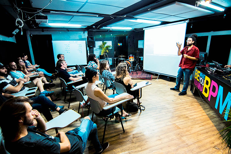 בית הספר למוזיקה בתל אביב bpm שיעורי יצירה מוזיקלית