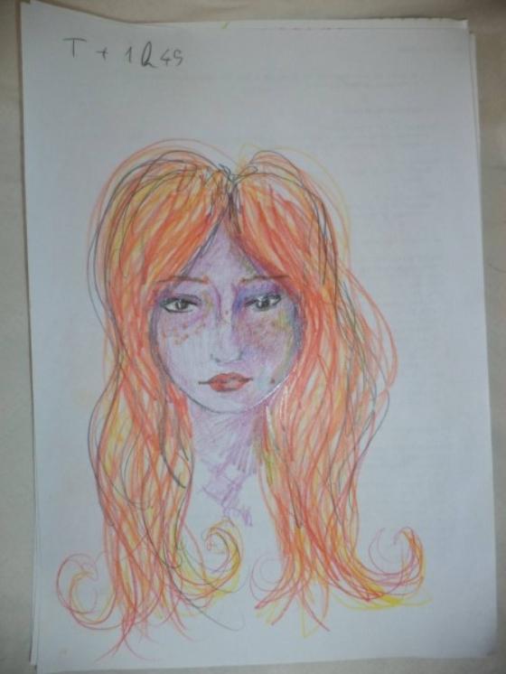 ציורים בהשפעת אסיד LSD