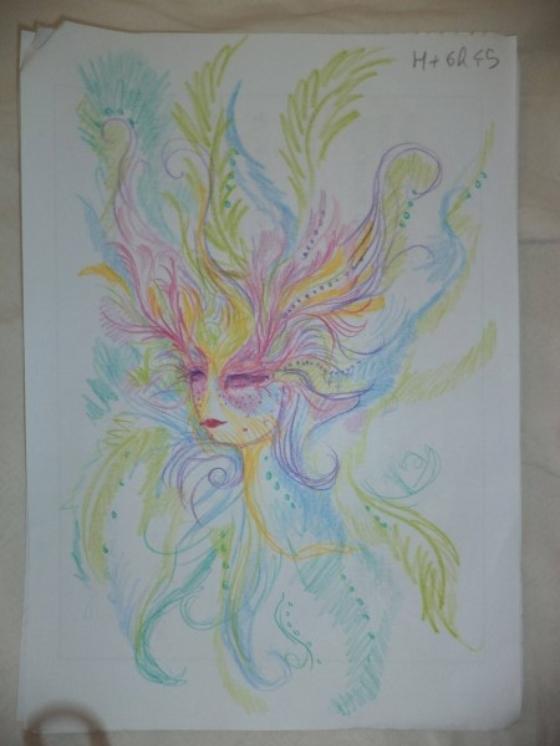 ציורים מגניבים בהשפעת אסיד LSD וסמים