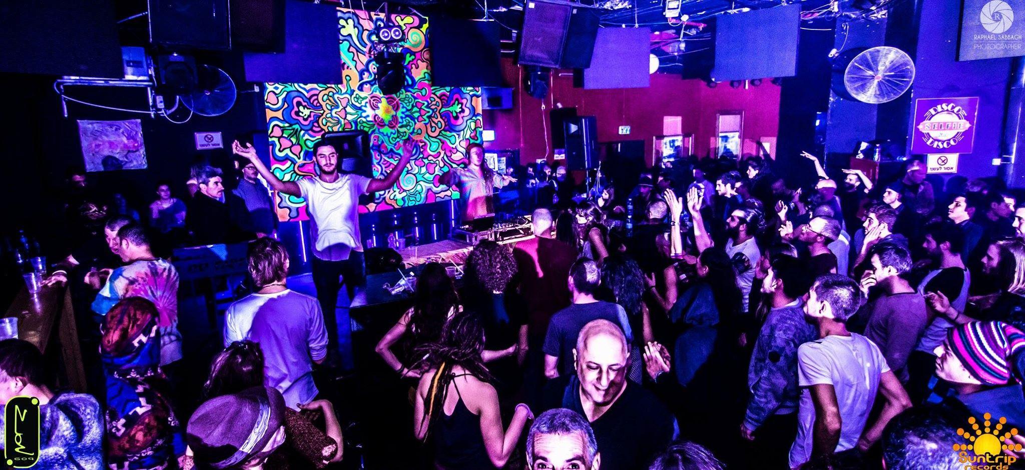מסיבת לייבל זאיון 604 עם סאנטריפ גואה טראנס בתל אביב