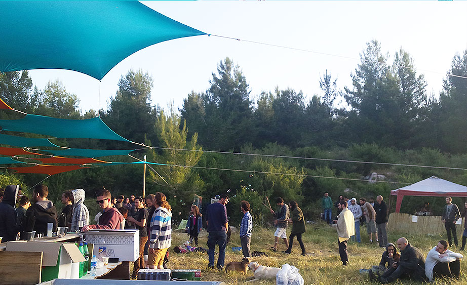 מסיבת צ'ילאווט אמביאנט iambient