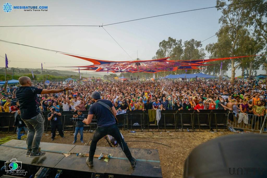 ערן גורדון ביוניטי פסטיבל פורים 2016