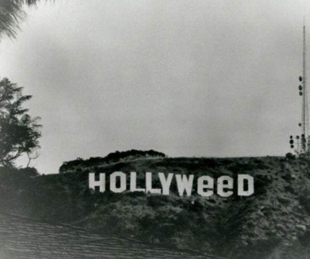 השלט של הוליווד הושחת ב 1976