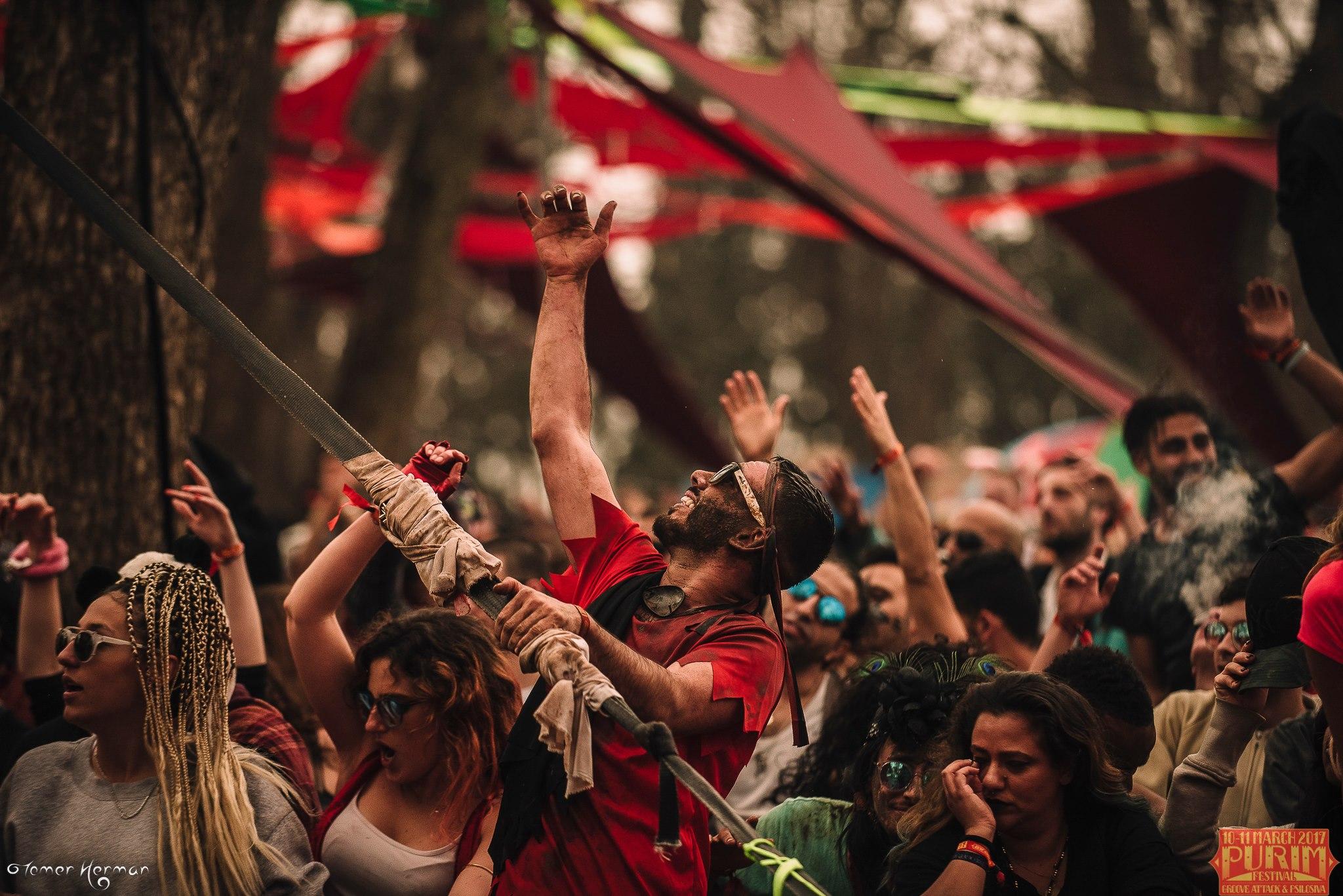 גרובאטאק ופסילוסיבה בפורים פסטיבל טראנס