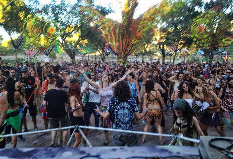 הרחבה מרכזית בפסטיבל ZNA
