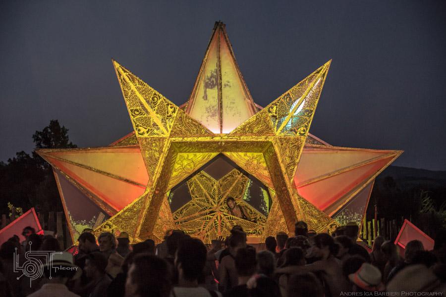 פסטיבל טראנס תפאורה משגעת ומדהימה