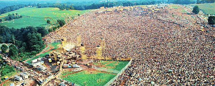 פסטיבל וודסטוק 1969