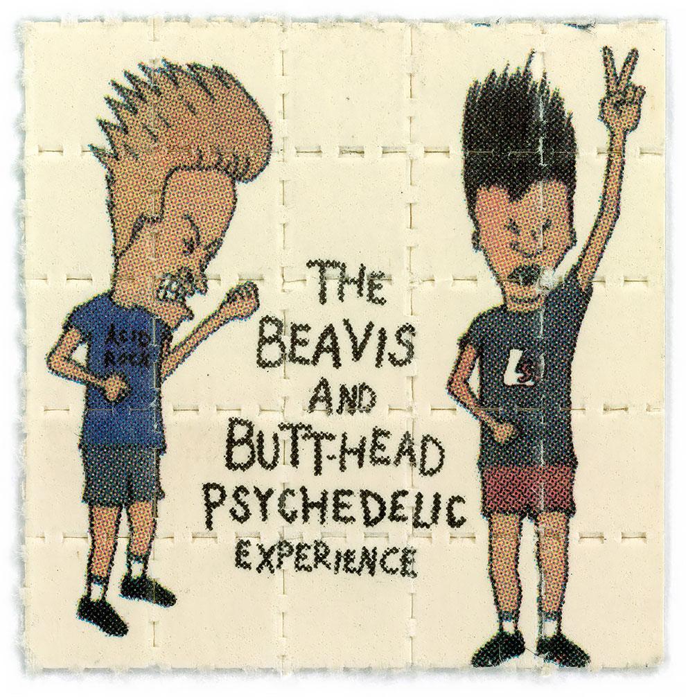 גלויות אסיד LSD ביוויס ובט הד