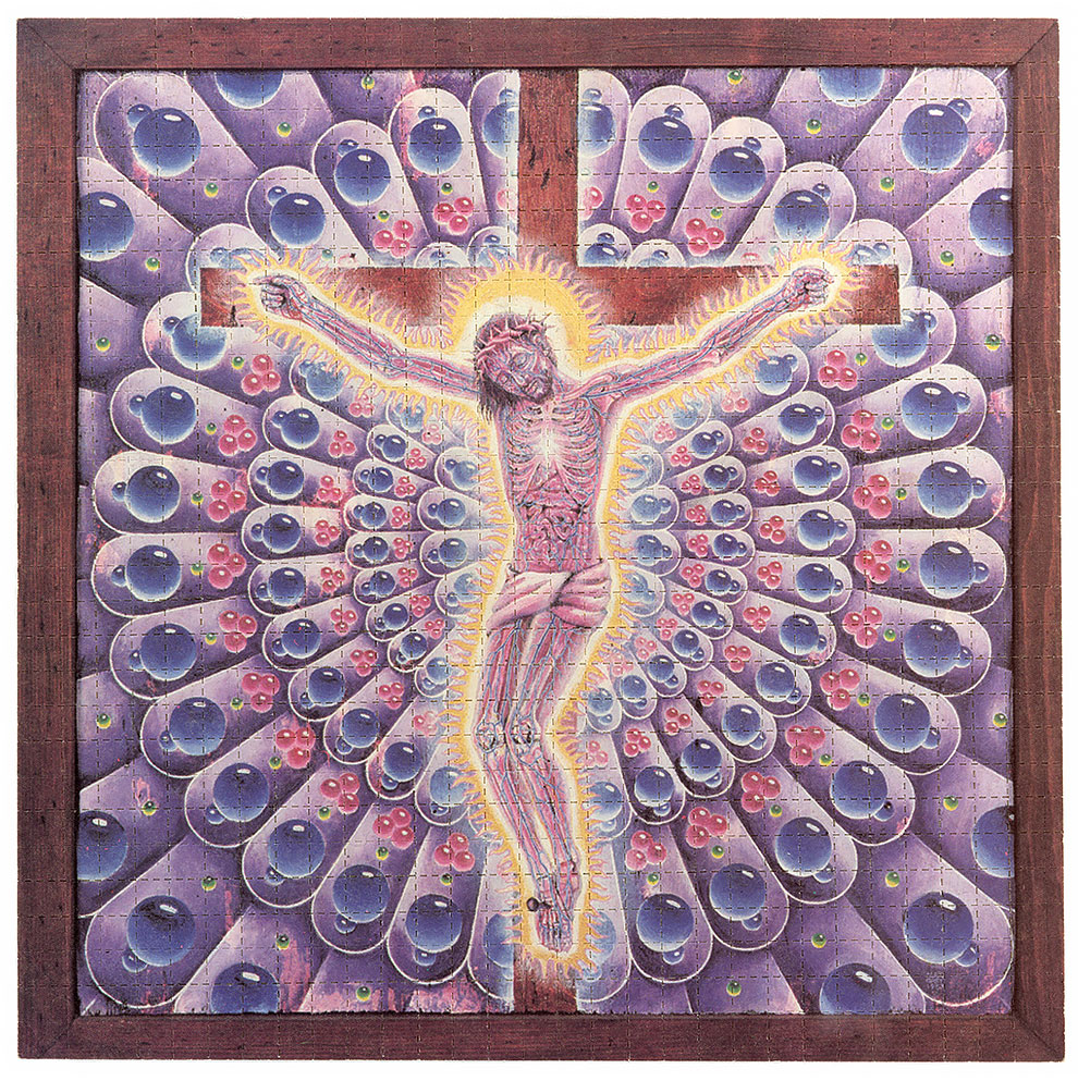 גלויות אסיד LSD ישו סגול