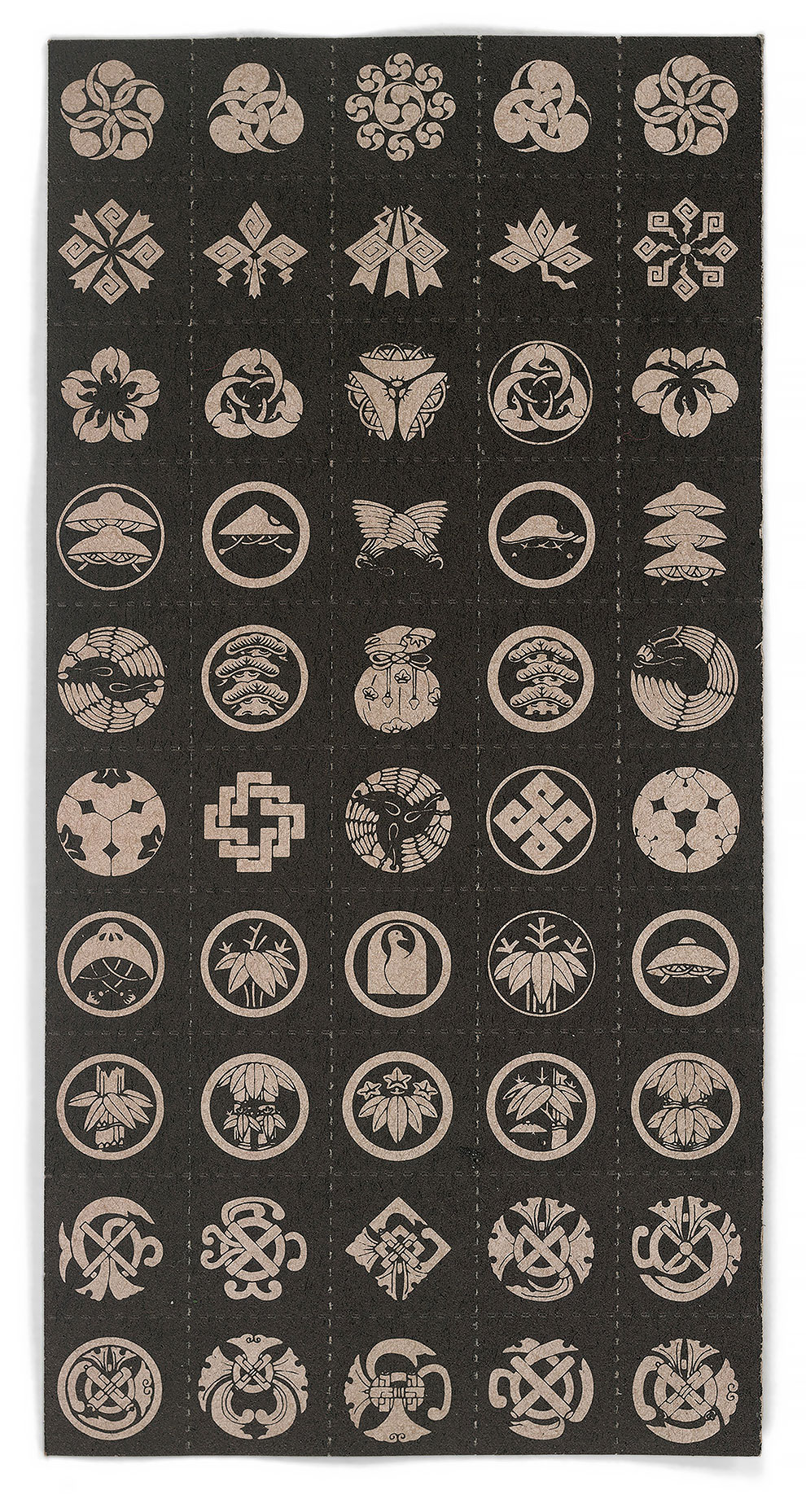 גלויות אסיד LSD סמלים יפנים