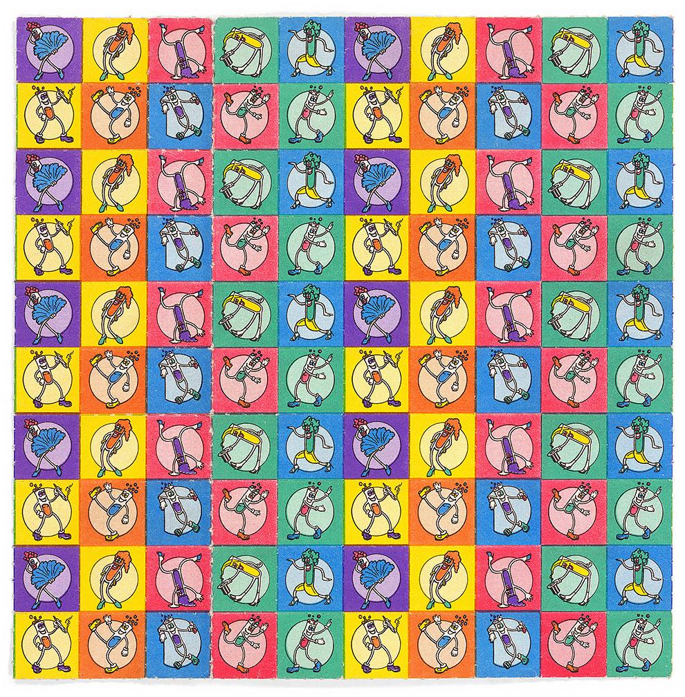 גלויות אסיד LSD קרטונים