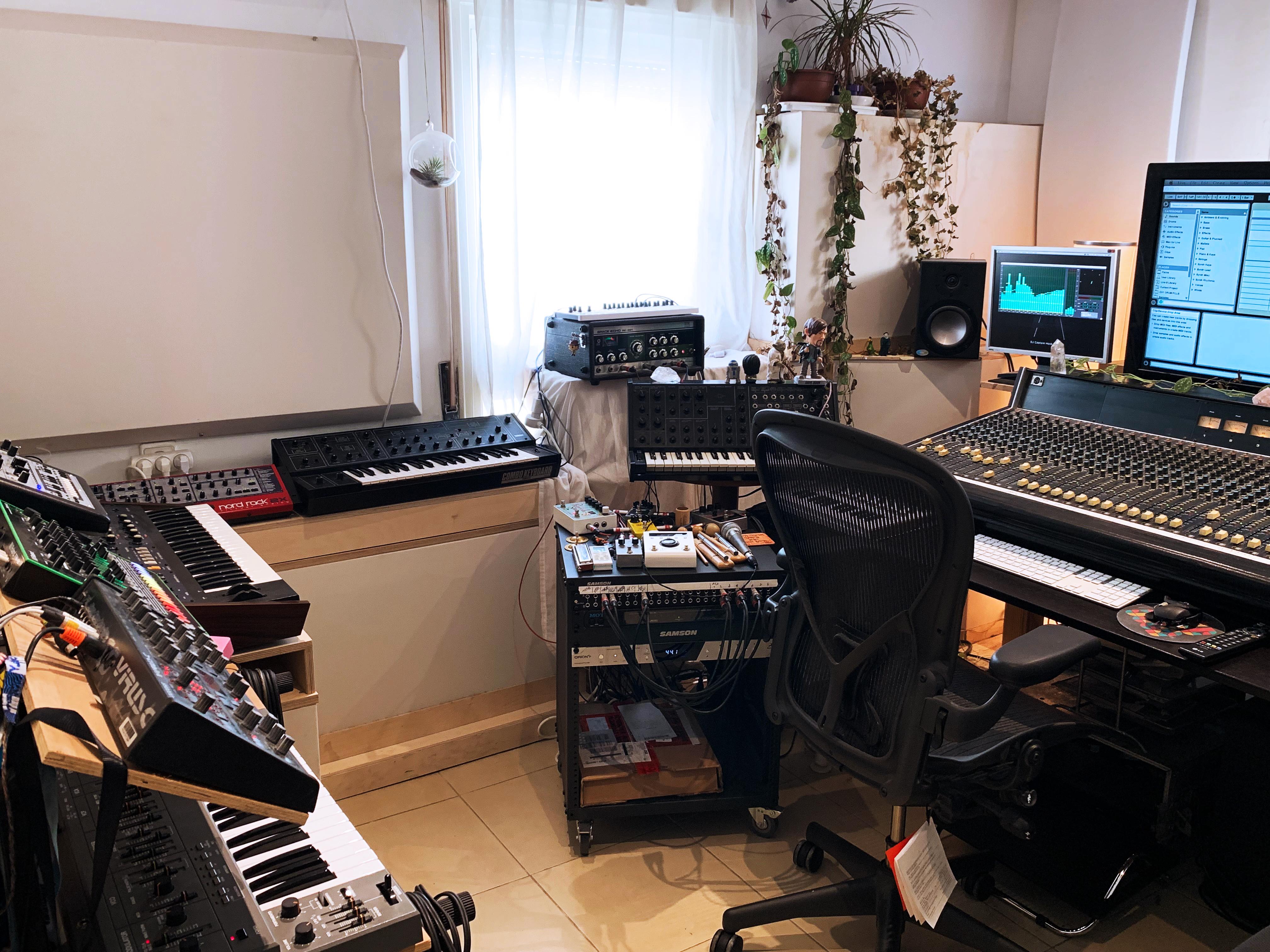 ציוד האולפן של קפטן הוק, Captein Hook studio