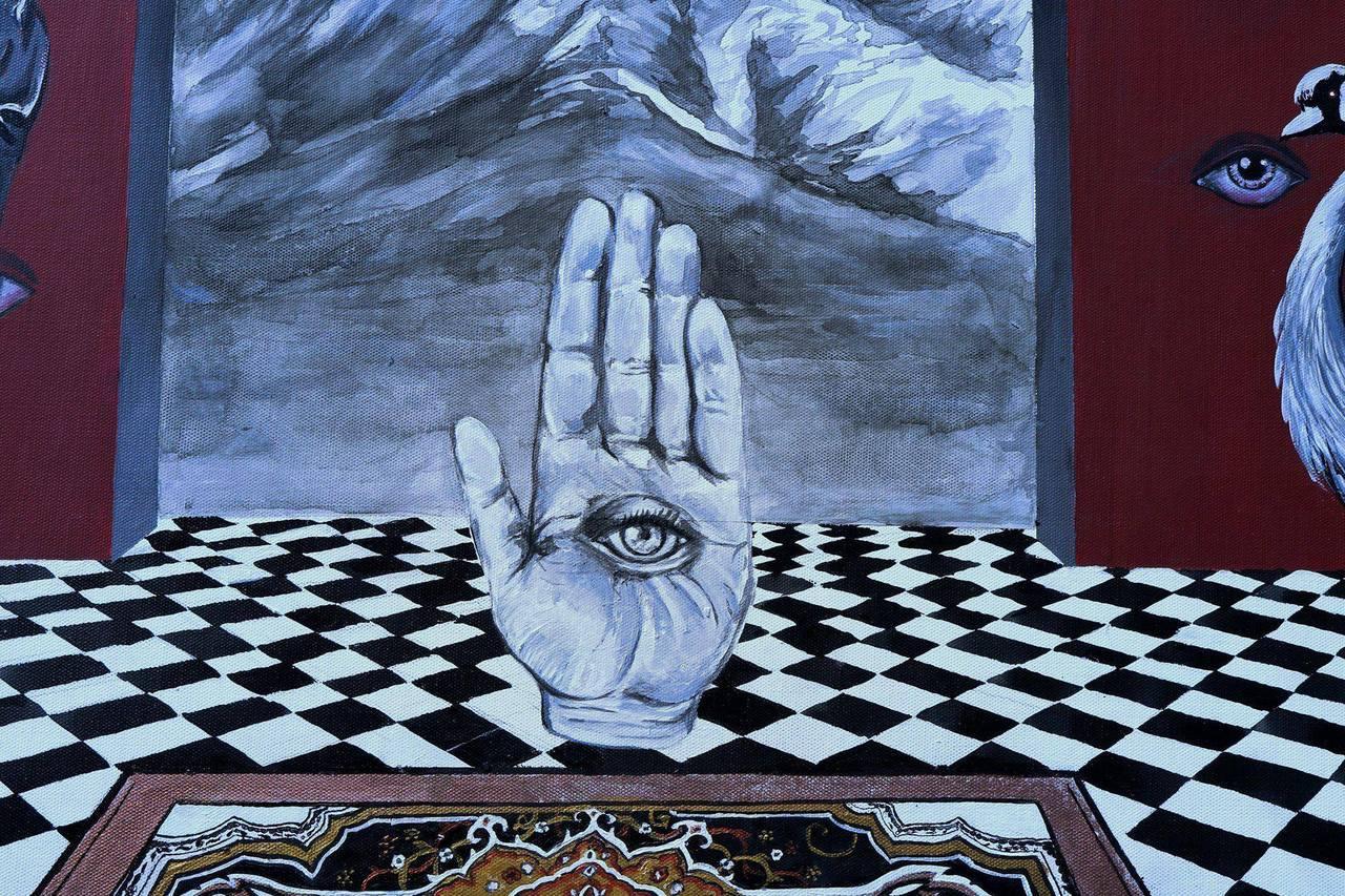 אומנות סימטרית, עין שלישית