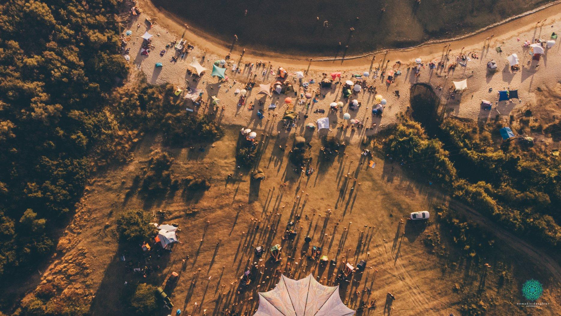 לוקיישן פסטיבל Free earth ביוון