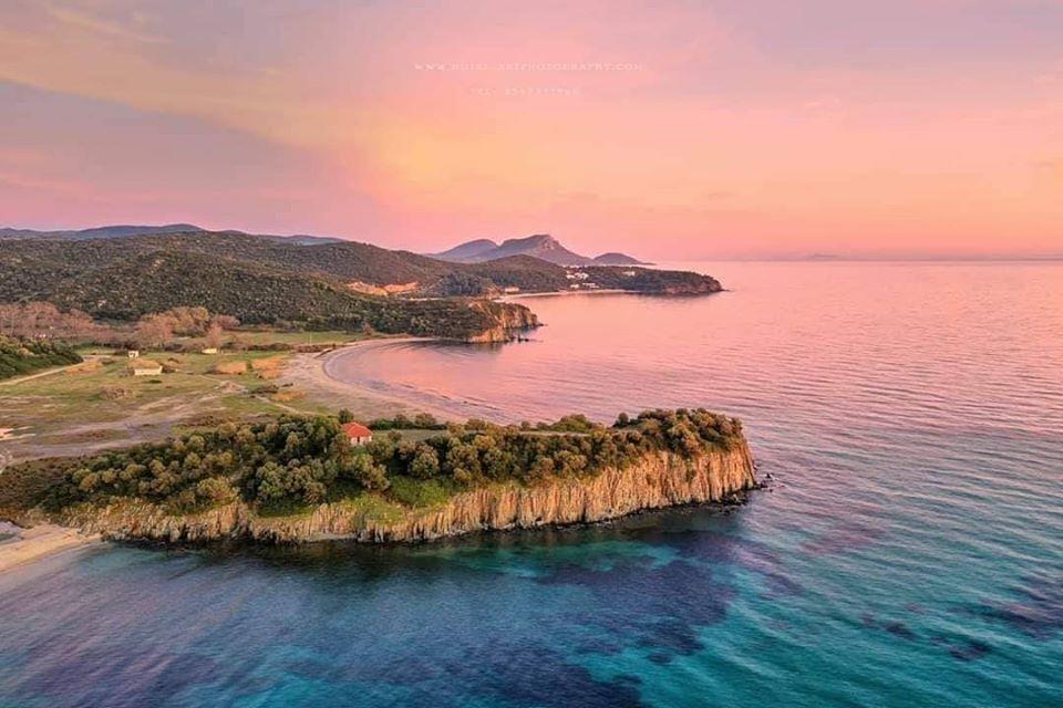 פסטיבל ביוון Free earth חוף יער חלקידיקי כלקידיקי