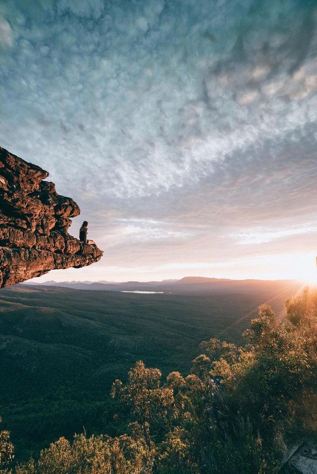 נוף הררי באוסטרליה